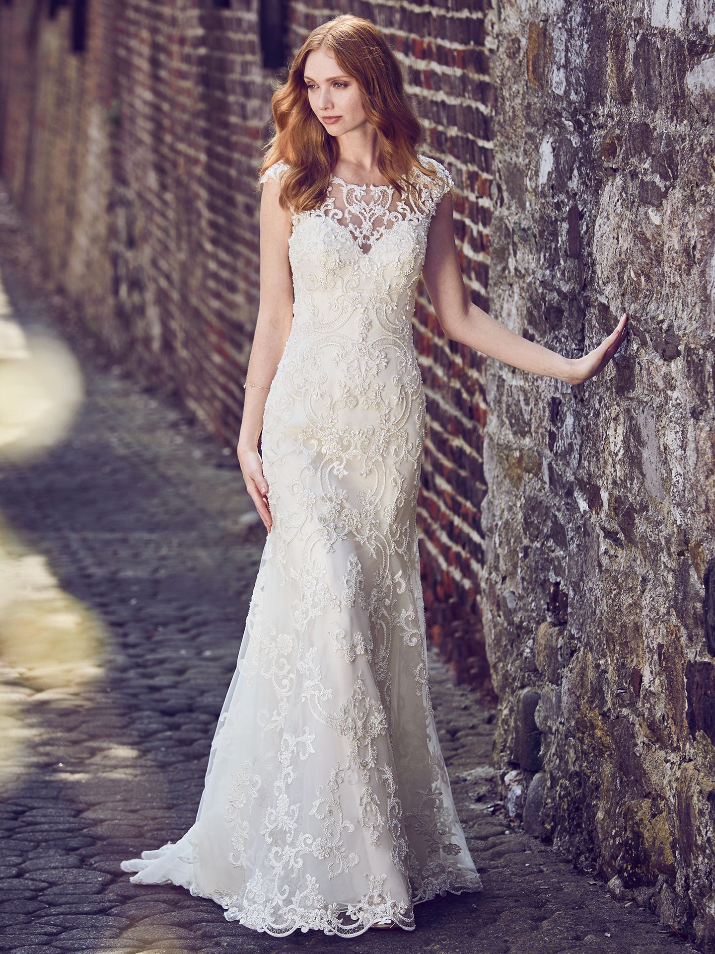Flattering Wedding Dresses for Curvy Brides - Everly by Maggie Sottero