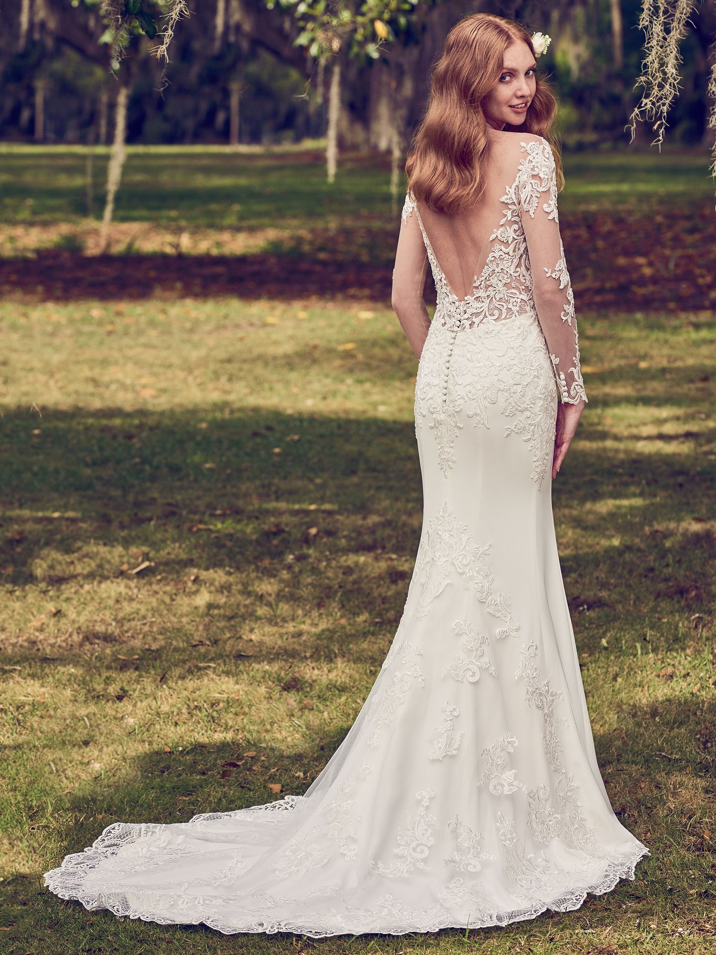 """Toccara wedding dress for that """"effortlessly alluring"""" vibe. - The Latest Wedding Dress Trends for Engagement Season 2018"""
