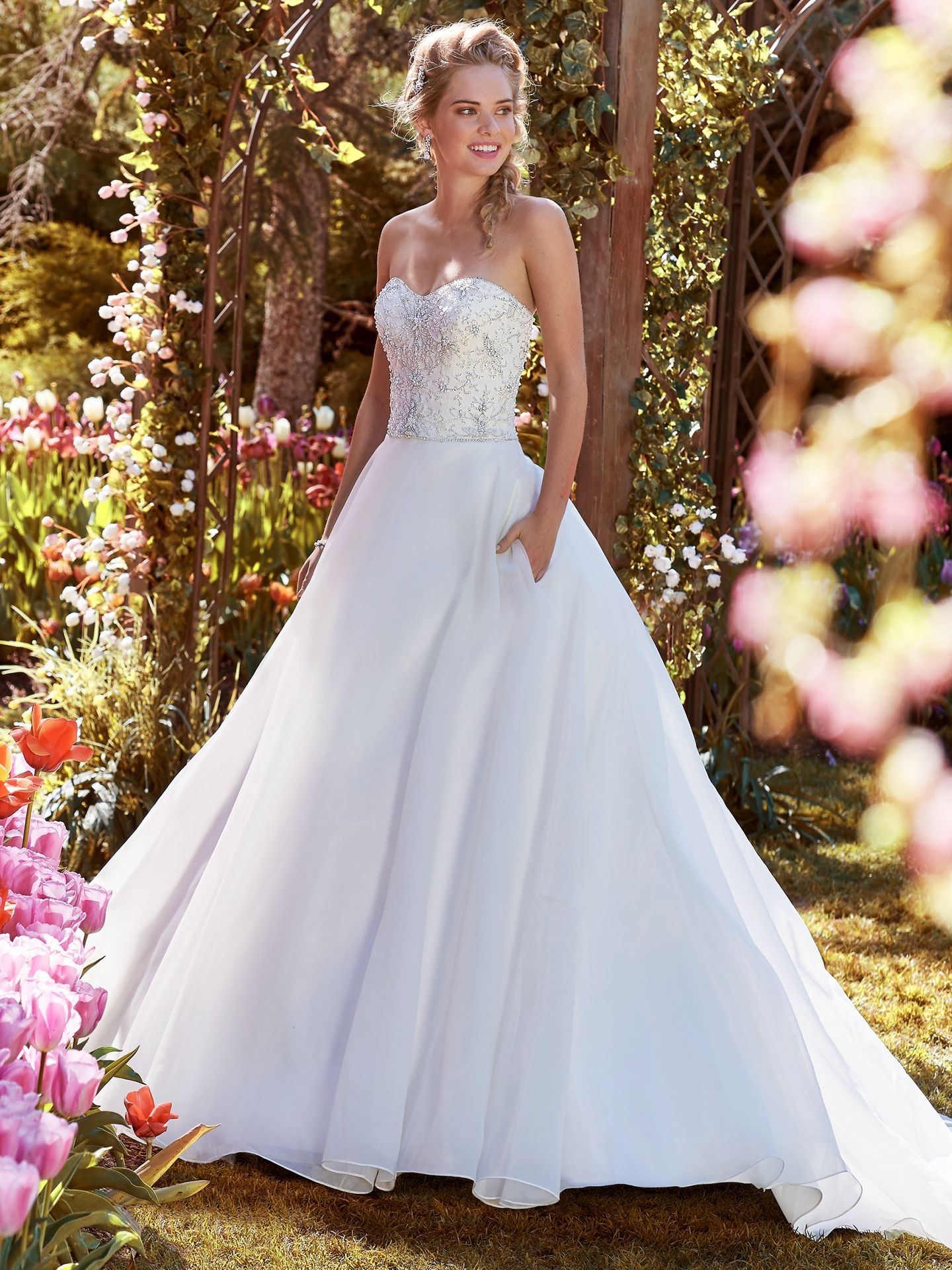 Organza wedding dress Judith by Rebecca Ingram