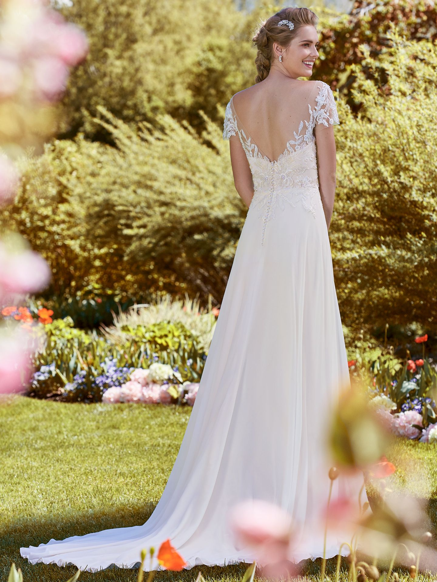 Flattering Wedding Dresses for Curvy Brides - Mercy by Rebecca Ingram