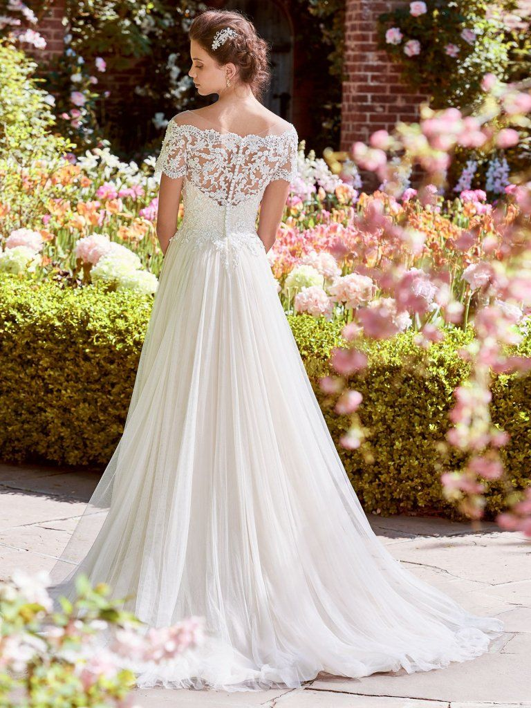 Rebecca Ingram Wedding Dress Michelle 8rn456 Back