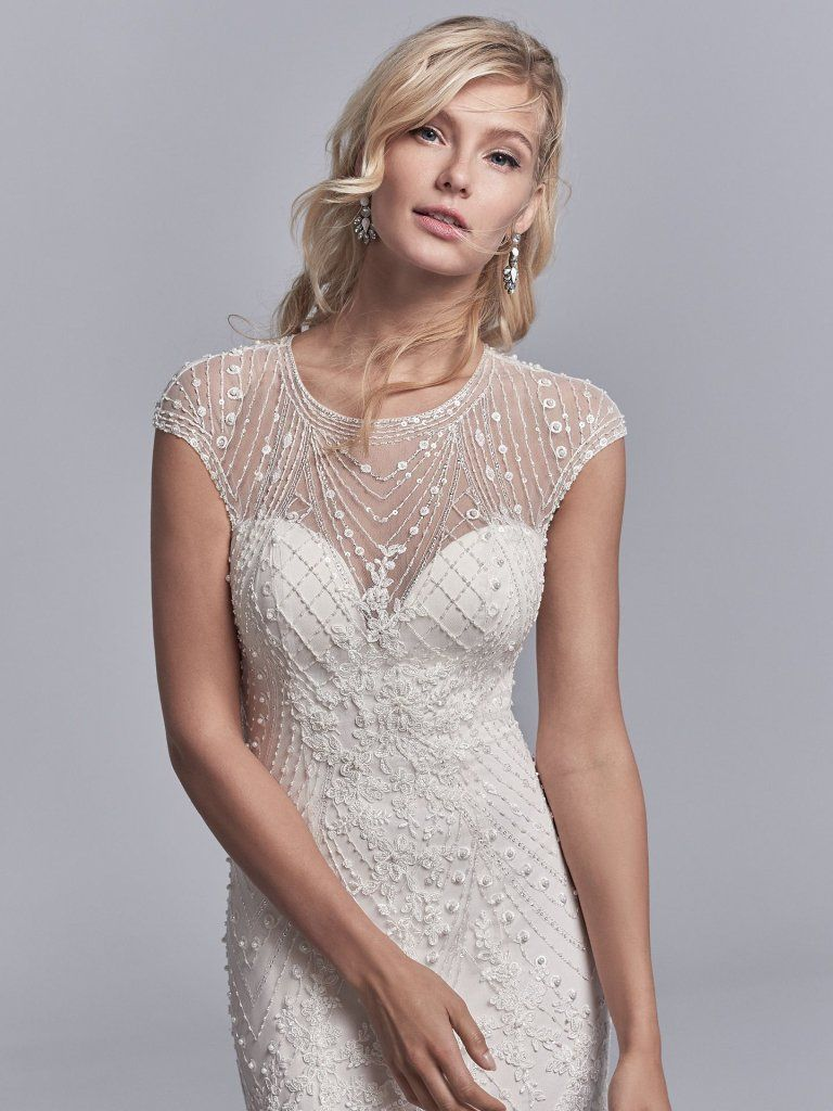 Grady 8ss520 Vintage Lace Wedding Dress By Sottero And