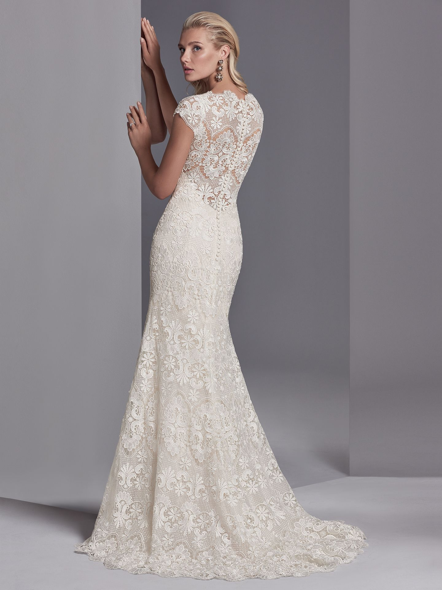 Bold lace dress Zayn Rose by Sottero & Midgley