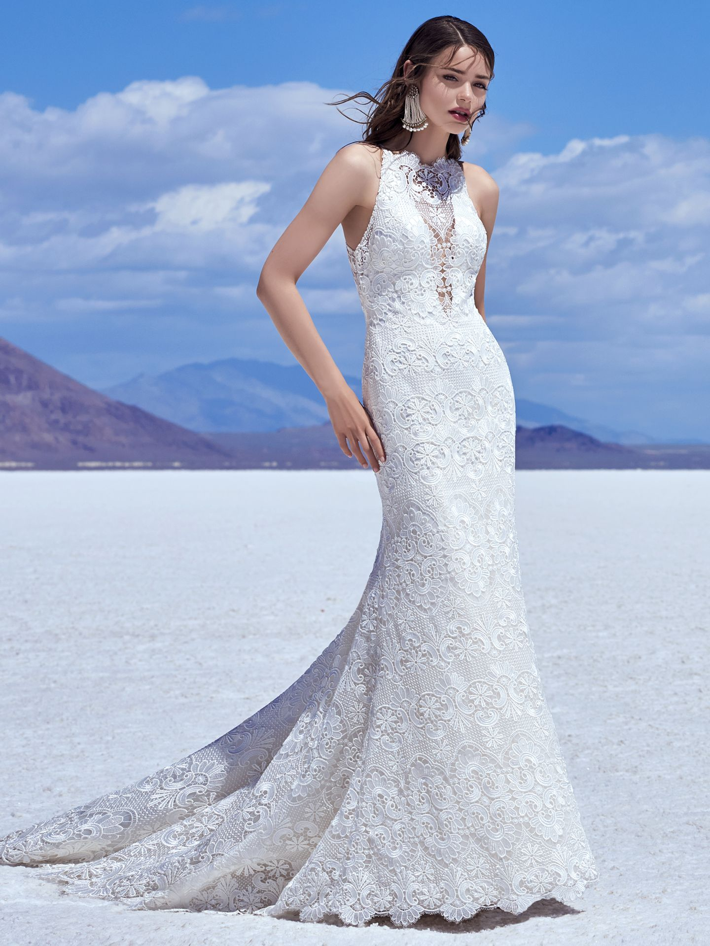 Satin wedding dress Zayn by Sottero and Midgley
