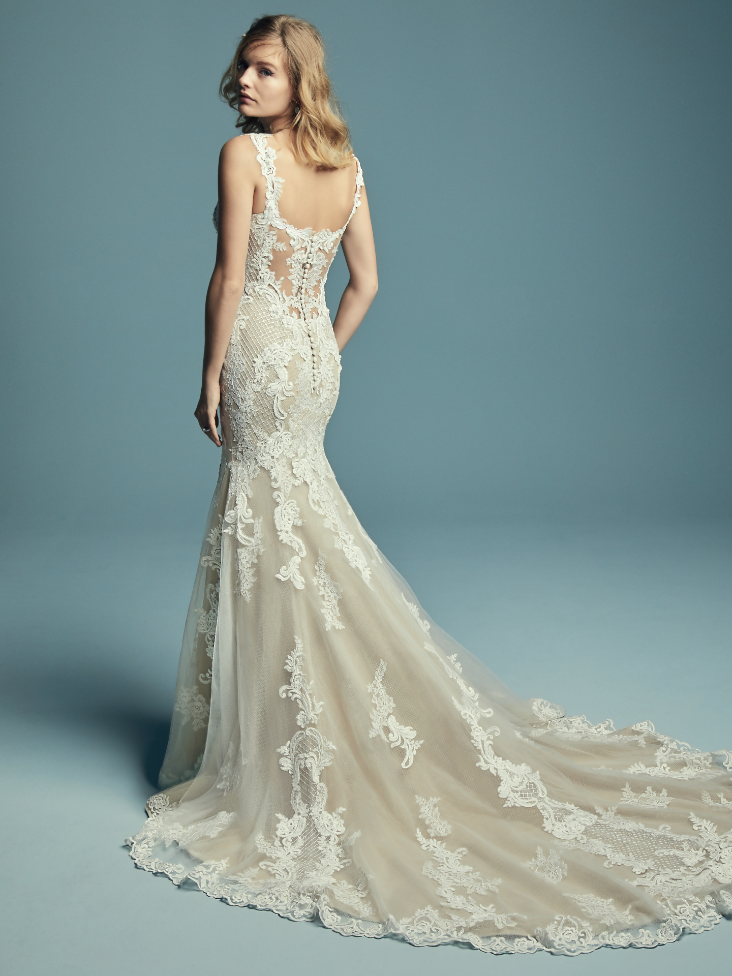 New Boho Wedding Dresses from the Lucienne Collection - Abbie by Maggie Sottero