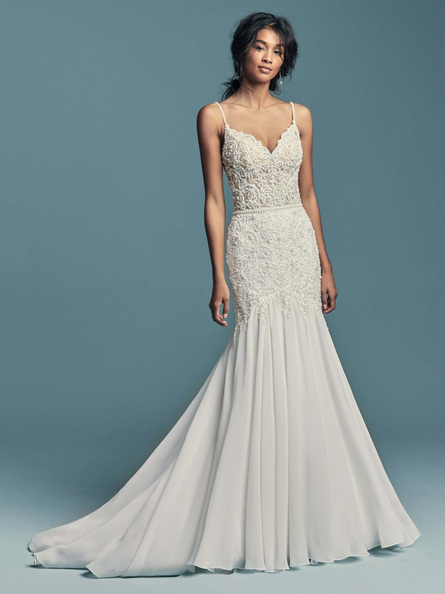 New Boho Wedding Dresses from the Lucienne Collection - Imani by Maggie Sottero