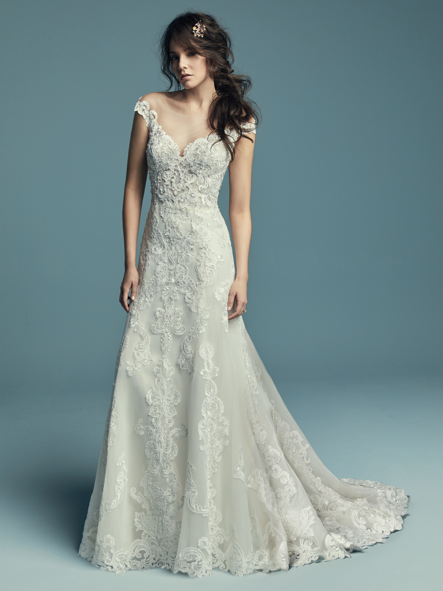 New Boho Wedding Dresses from the Lucienne Collection - Serena by Maggie Sottero