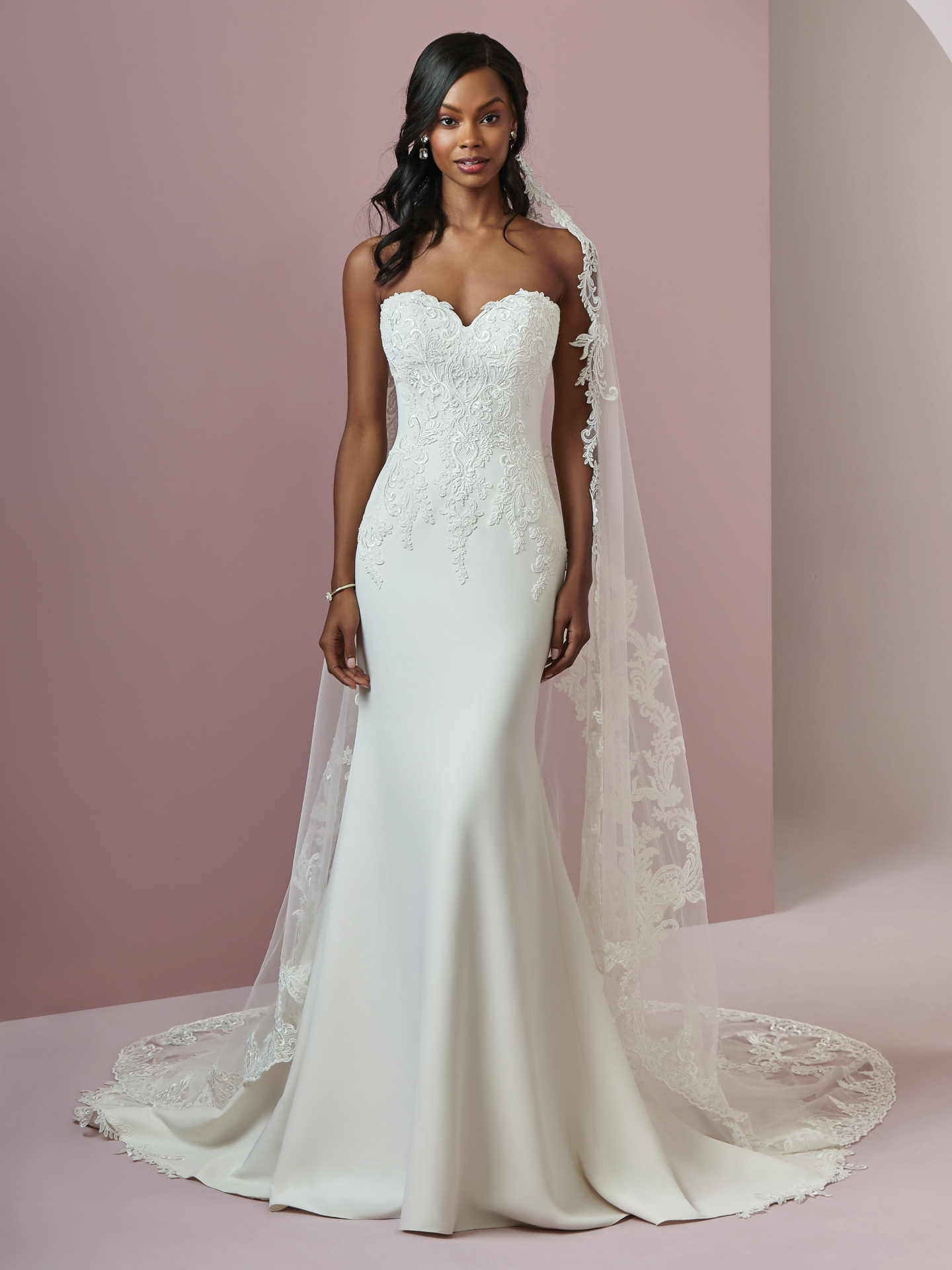 54ce569b46b5d Slip Style Wedding Dresses Chic and Relaxed Brides. Billie by Rebecca  Ingram.