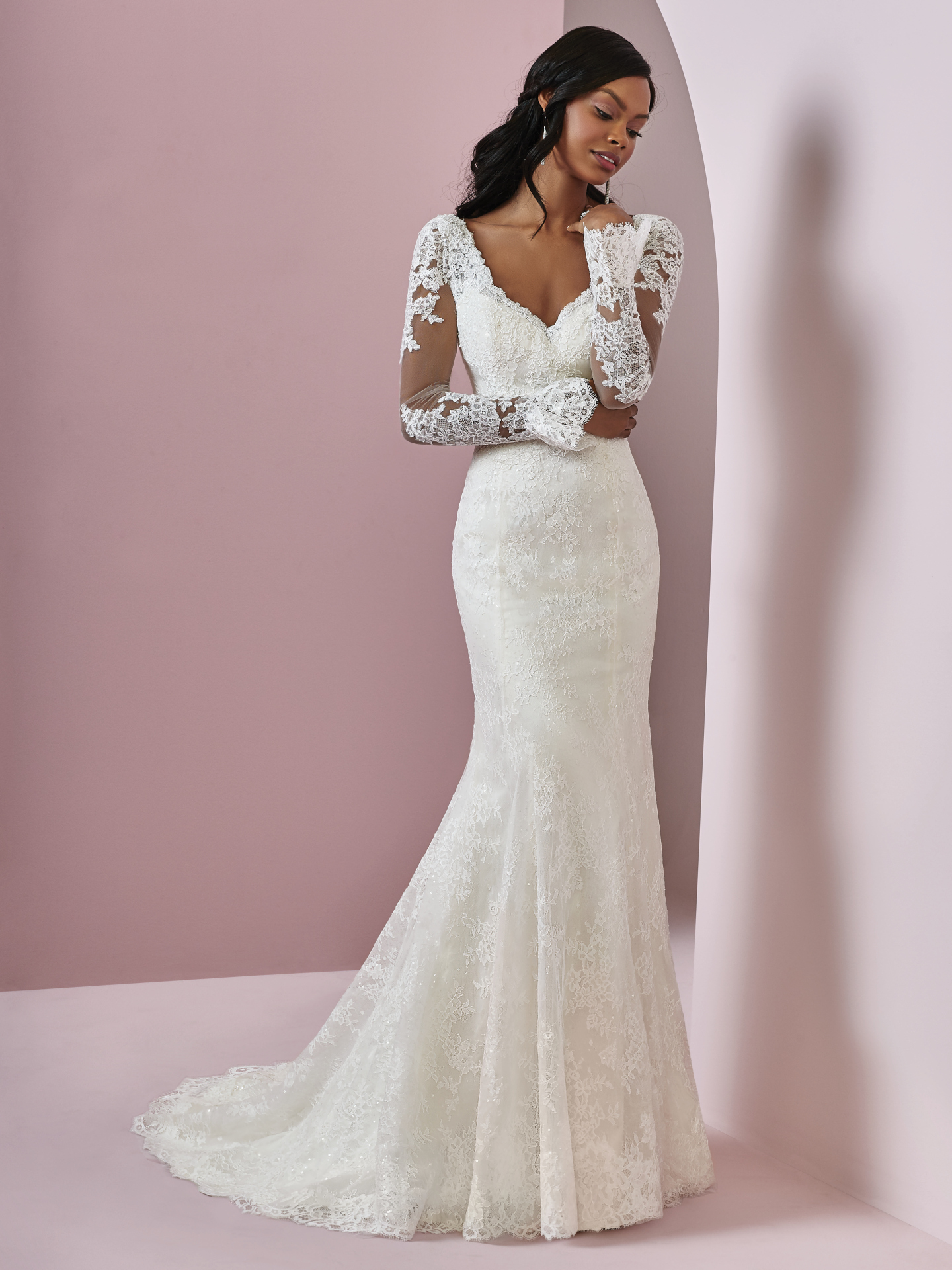 Favorite Sleeved Wedding dresses - Affordable gown with bell sleeves Bonnie by Rebecca Ingram