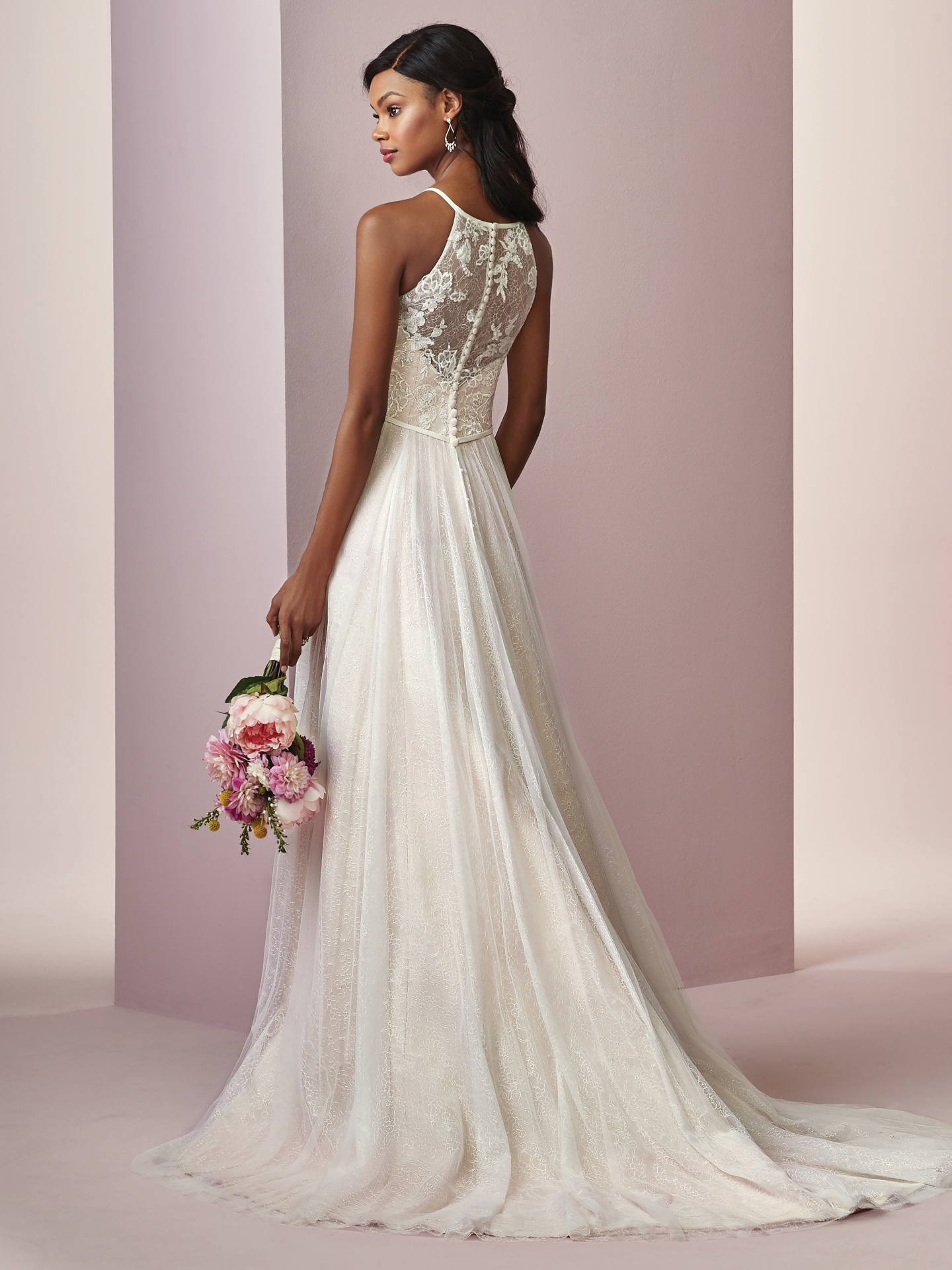 10 relaxed wedding dresses from our Camille collection by Rebecca Ingram - Choose Heidi for cool and modern.