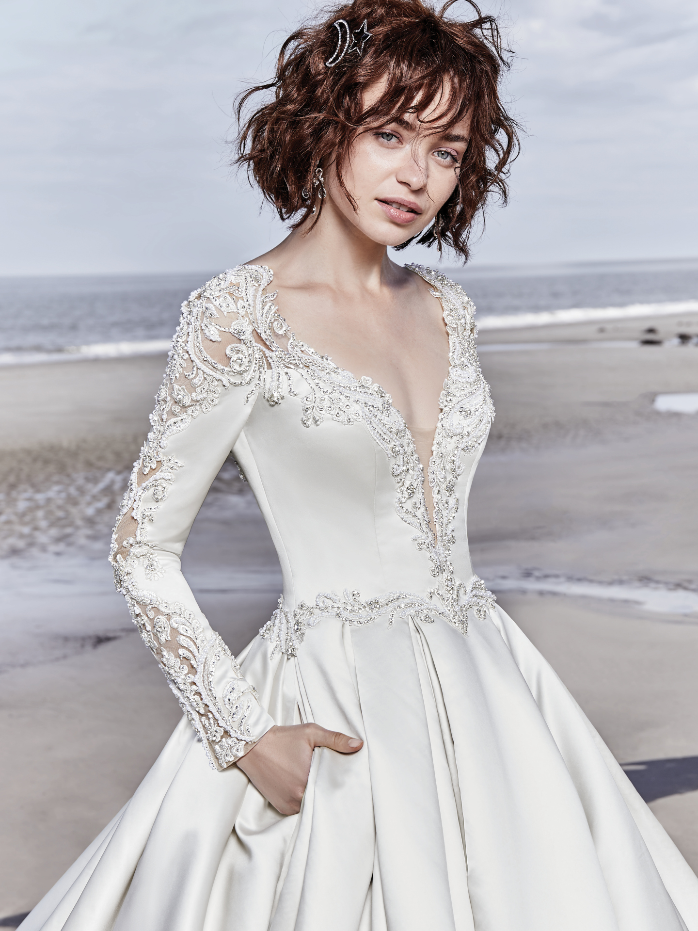 The Latest Glitzy, Red-Carpet-Ready Styles from Sottero and Midgley - Brennon