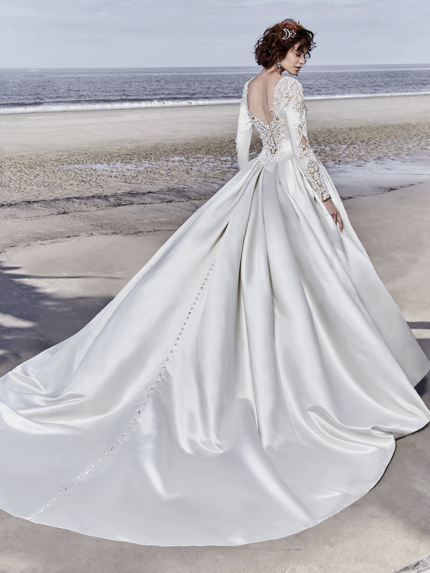 Wedding Dress Color Guide: Shades of White for Every Bride. Alabaster wedding dresses by Sottero and Midgley - Brennan