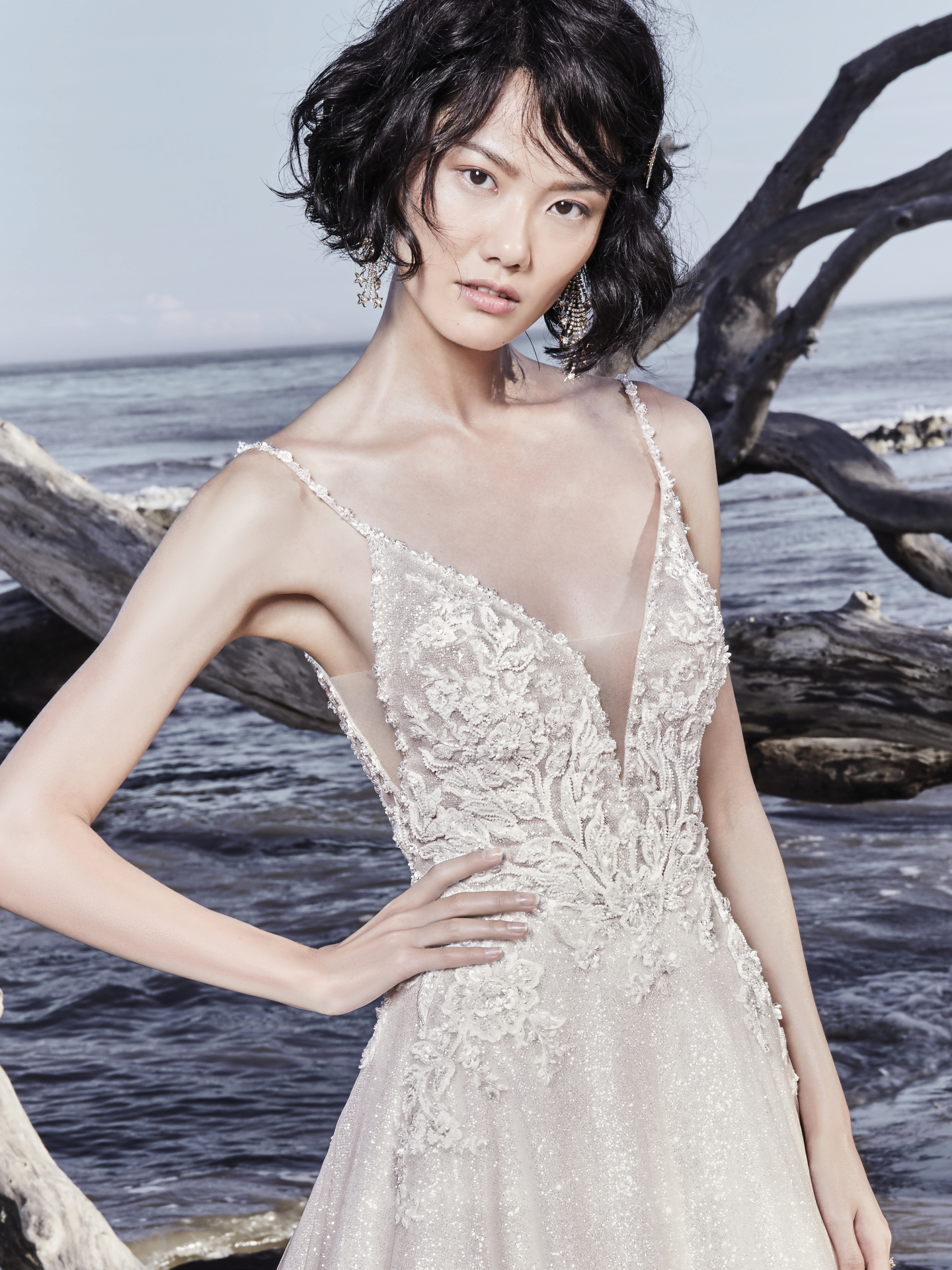 The Latest Glitzy, Red-Carpet-Ready Styles from Sottero and Midgley - Chad