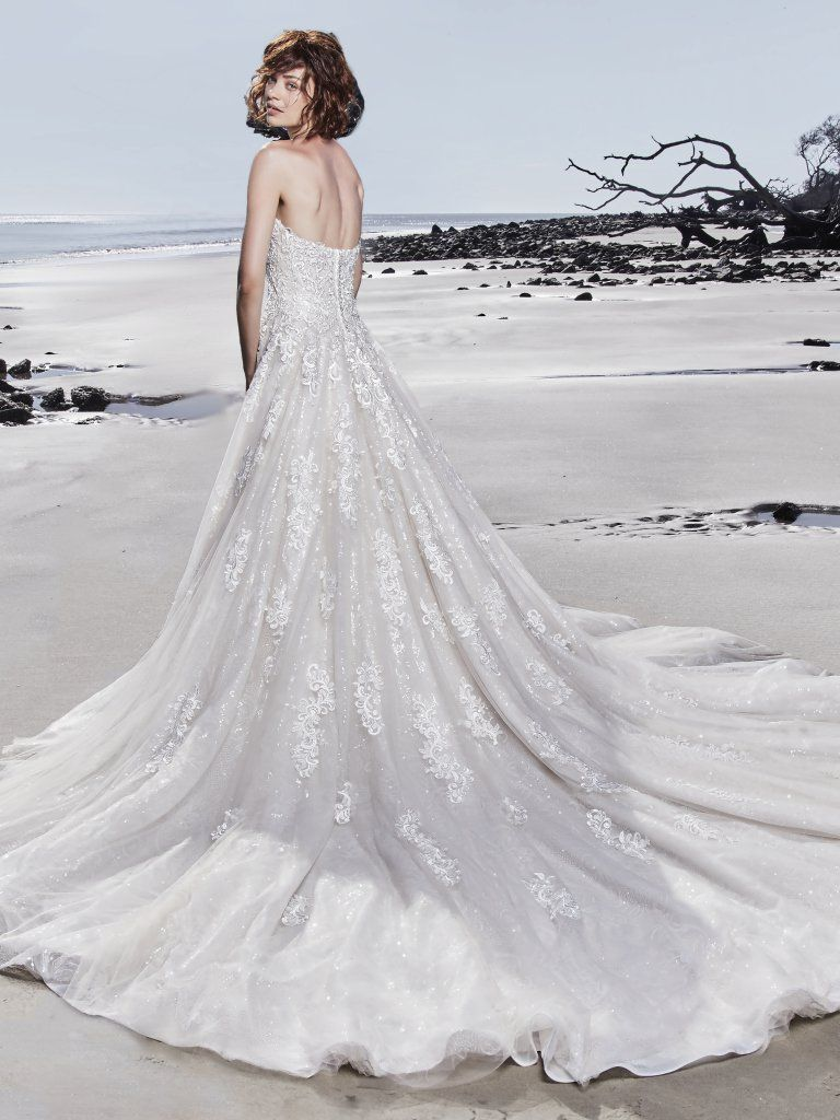Sparkly wedding dress Glenn by Sottero and Midgley