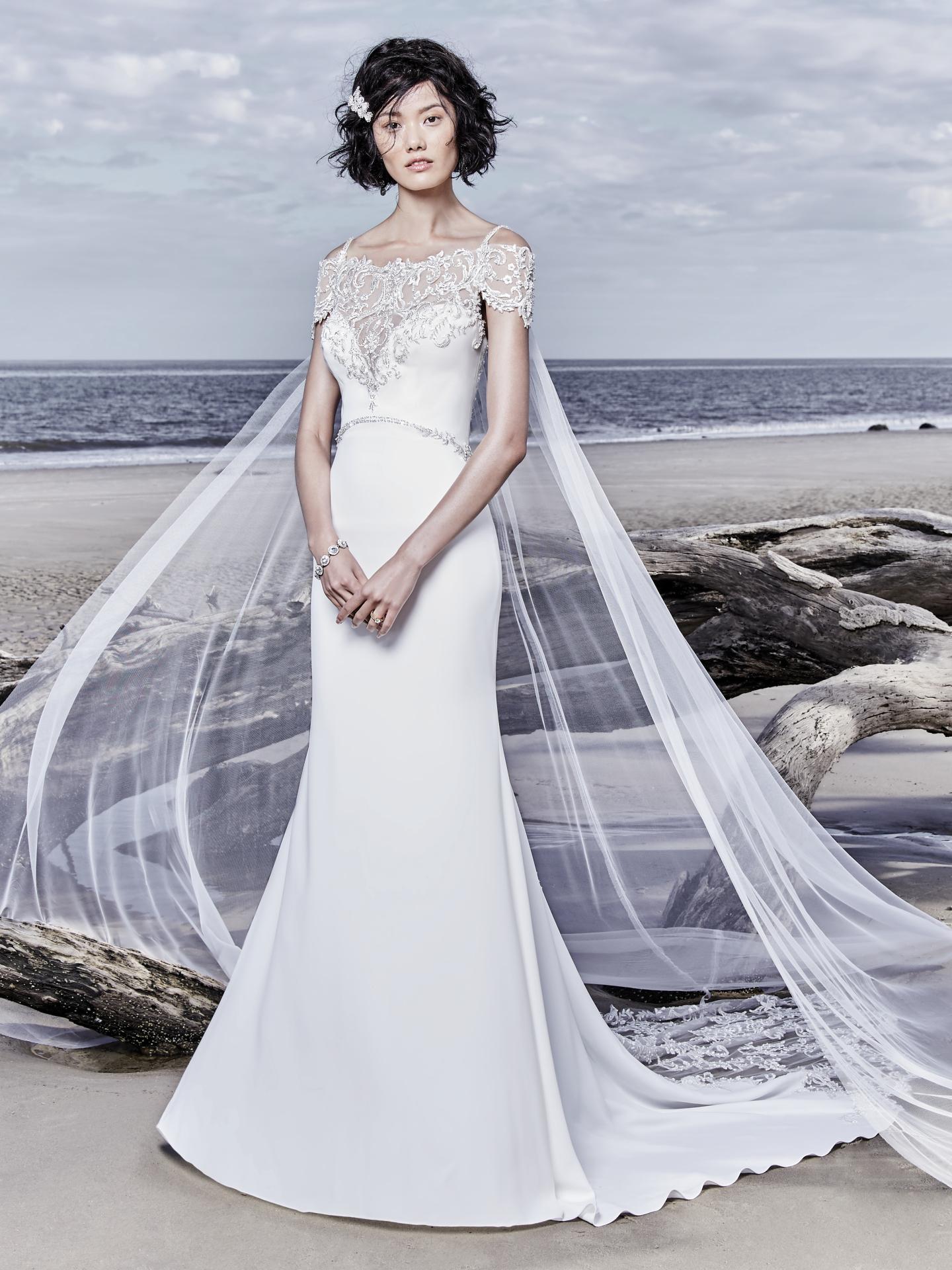 Flattering Wedding Dresses for Curvy Brides - Hayward by Sottero & Midgley