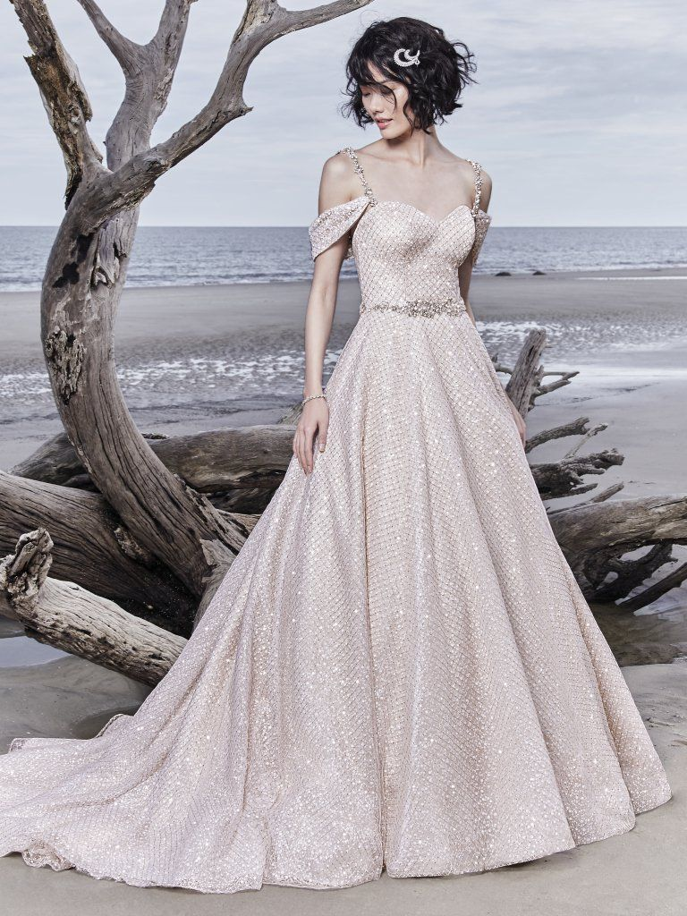 Sparkly wedding dress Magdalyn by Sottero and Midgley