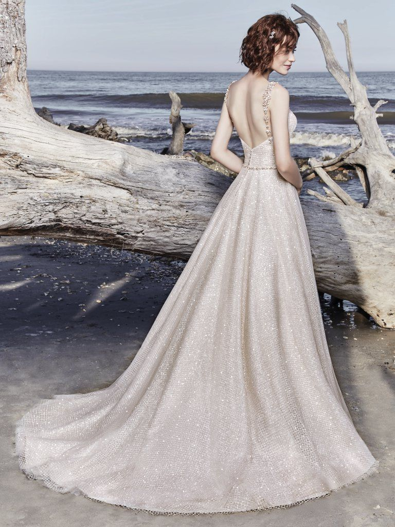 Sparkly wedding dress Vidette by Sottero and Midgley