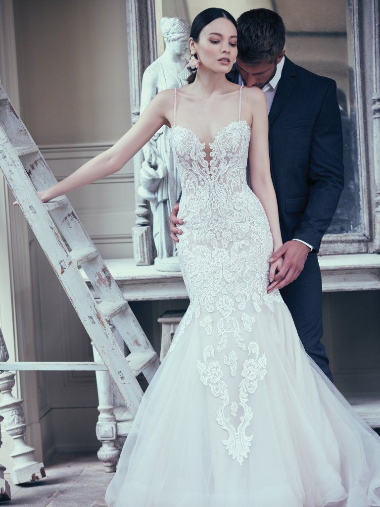 Alistaire 9ms023 Lace Fit And Flare Wedding Dress By