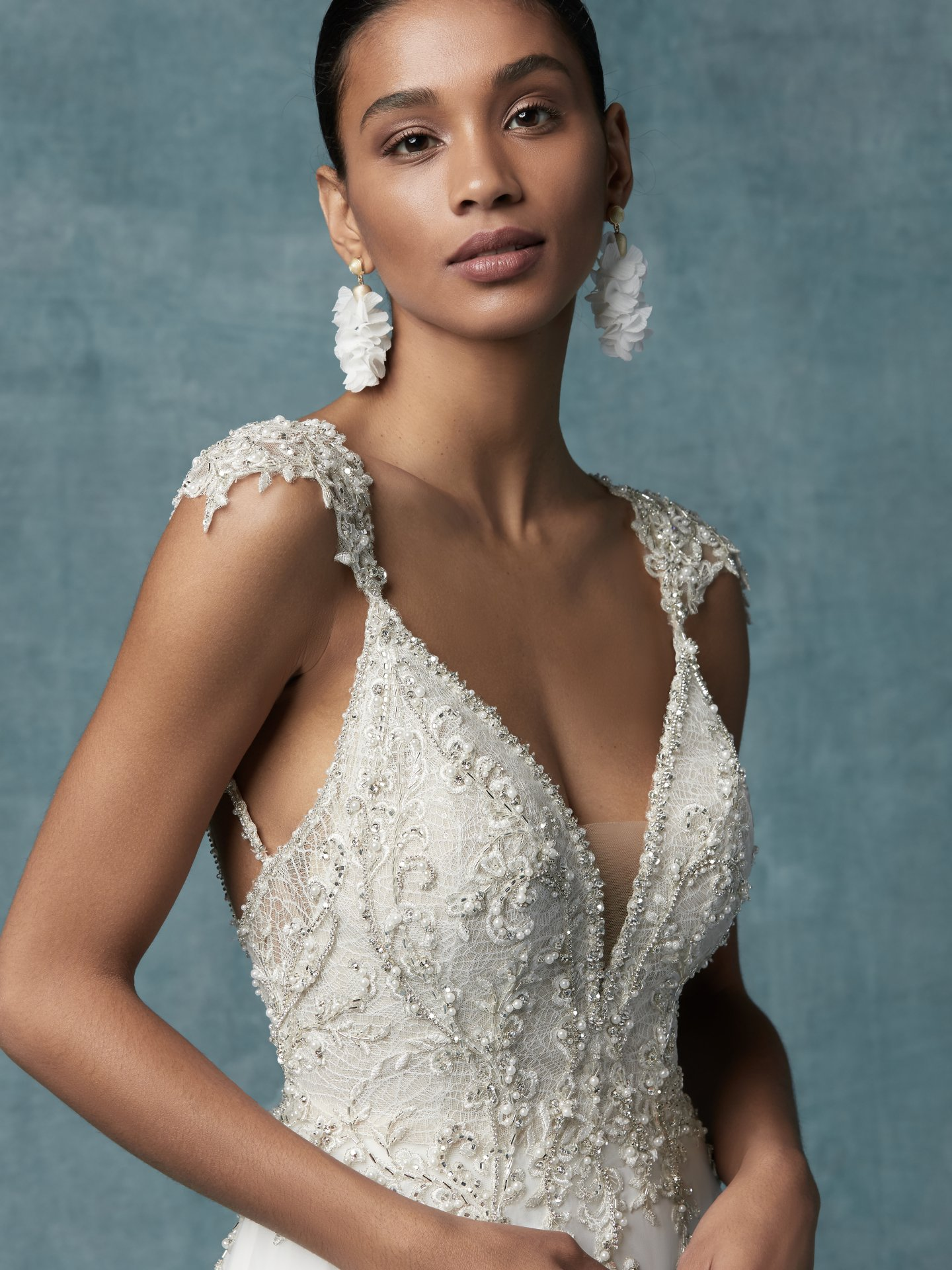 Fabulous Wedding Dresses With A Variety Of Beaded Sleeves Love Maggie