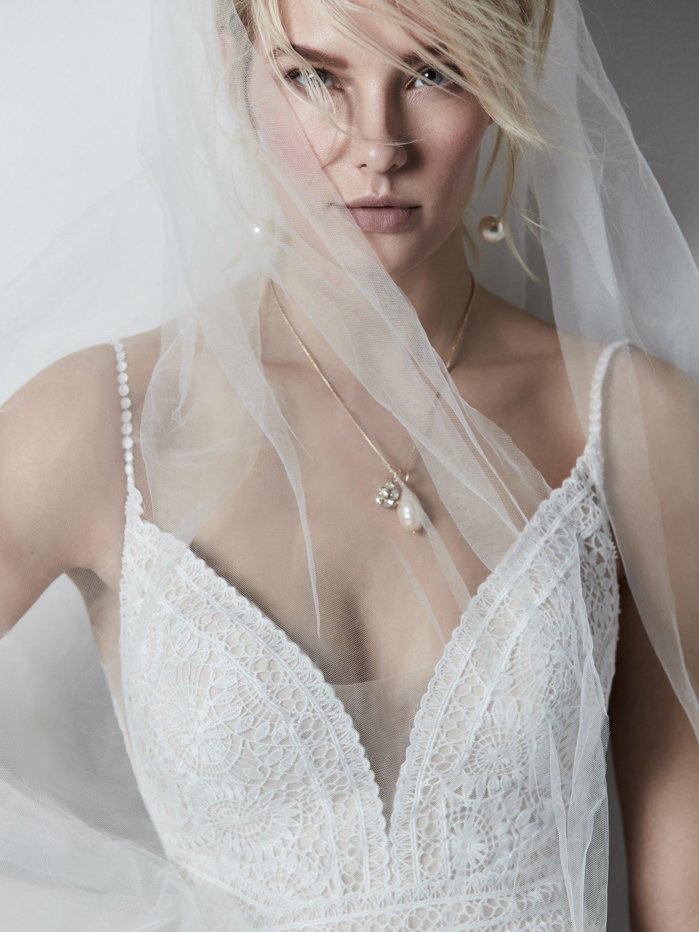 Sottero and Midgley Feilding boho lace wedding dress