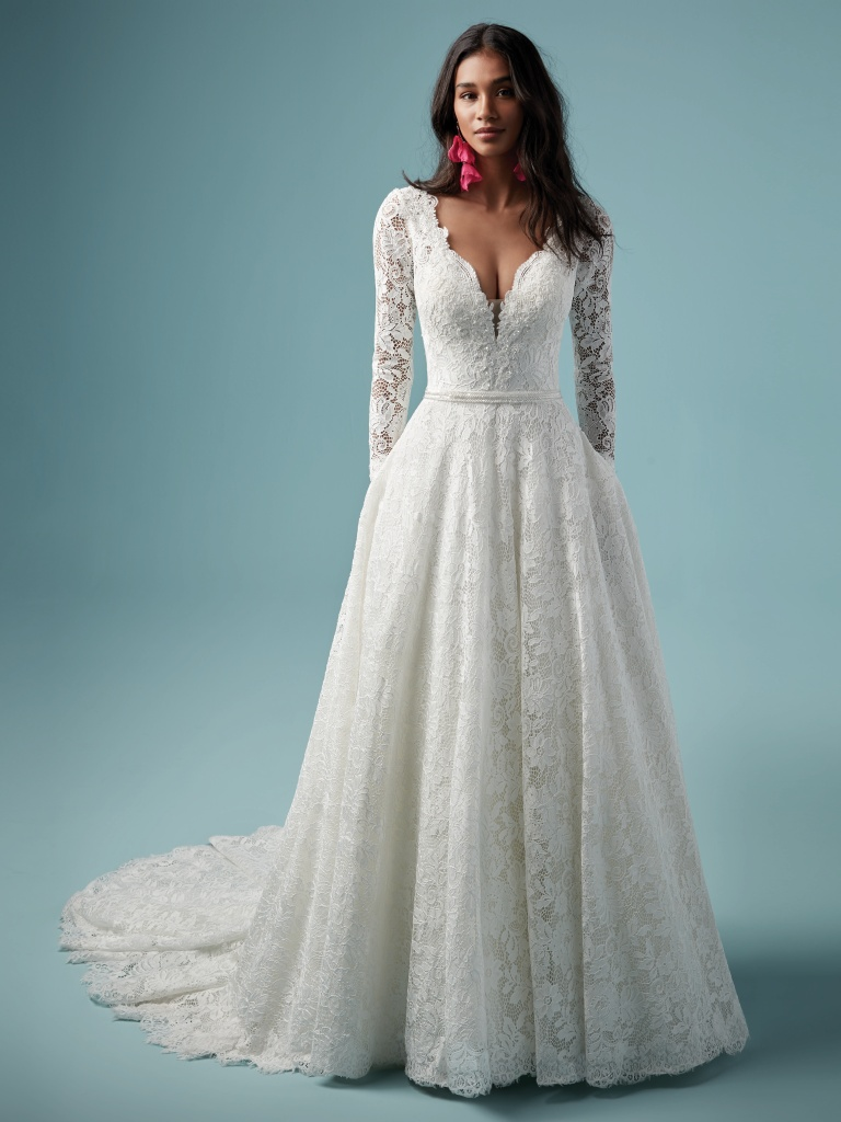 Terry Wedding Dress Bridal Gown Maggie Sottero