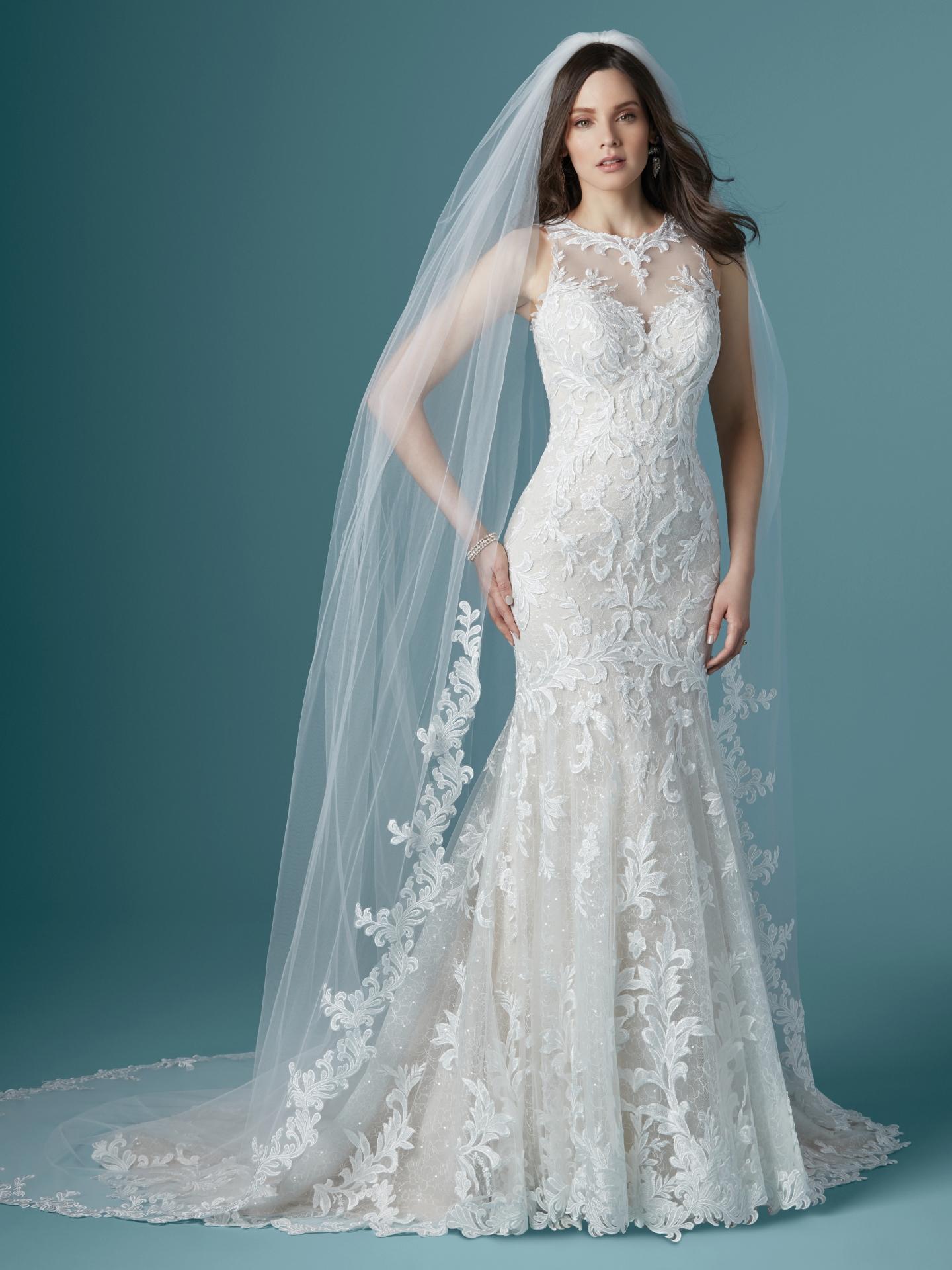 Leah Wedding Dress Bridal Gown Maggie Sottero